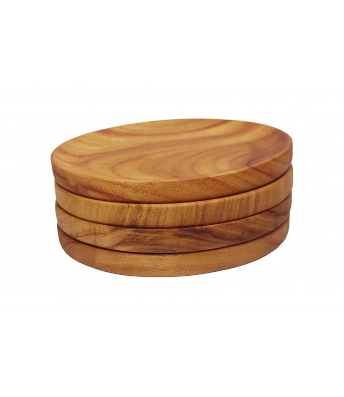 Lrg Wooden Bowl Plates