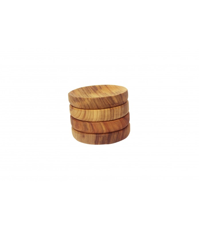 Sm Wooden Bowl Plates