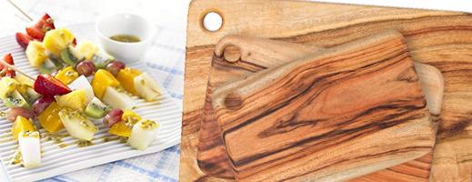byron bay chopping board fruit salad
