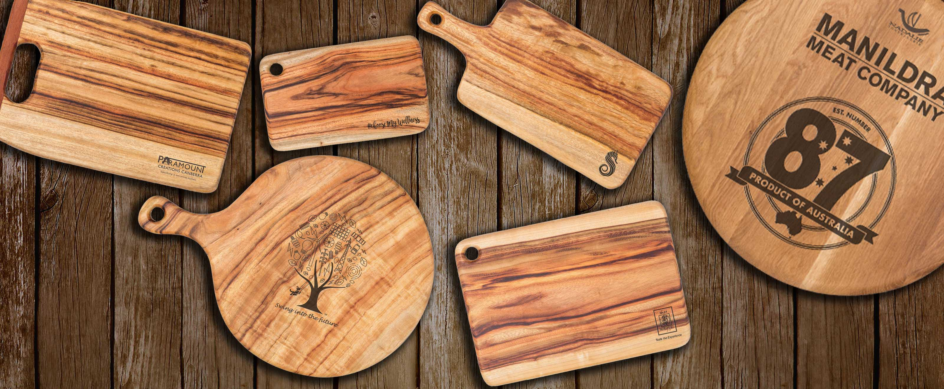 Byron bay chopping boards