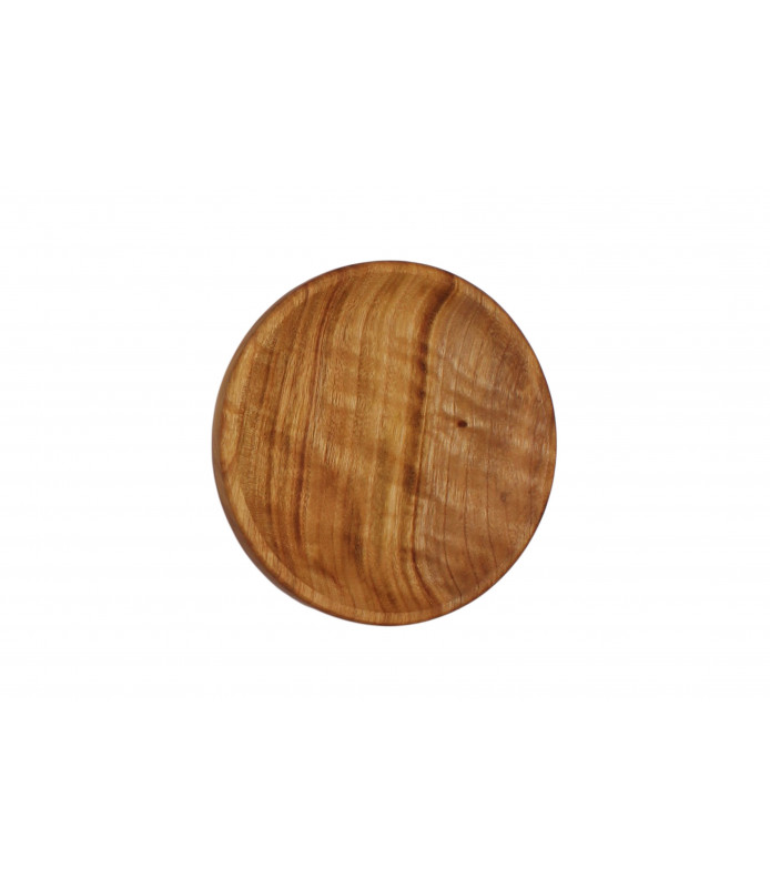 Medium Wooden Bowl Plates Single