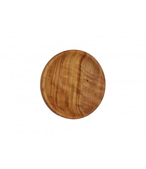 Medium Wooden Bowl Plates Single