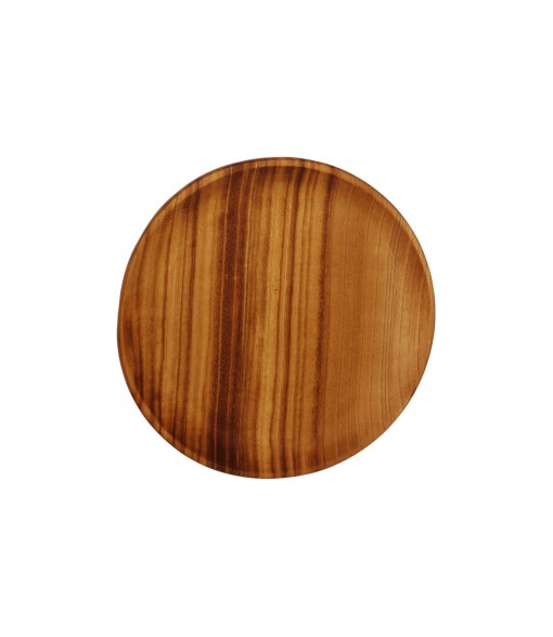 Large Wooden Bowl Plates Single