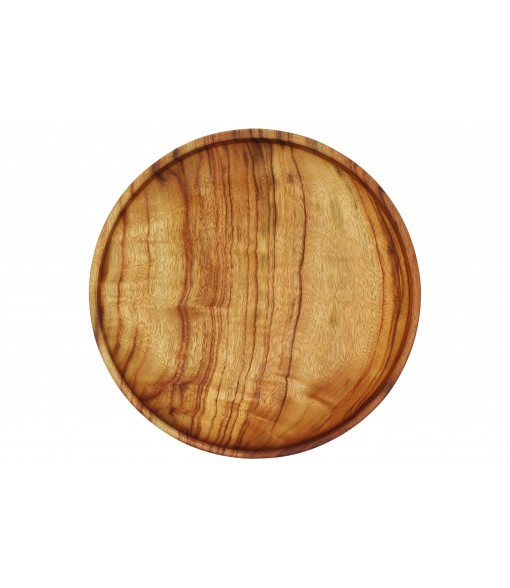 Extra Large Wooden Bowl Plates Sinlge