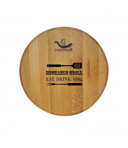 WINE BARREL PLATTER(Taransaud)
