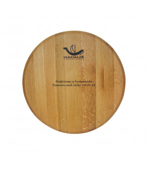 WINE BARREL PLATTER (NADALIE)