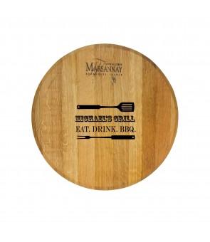 WINE BARREL PLATTER (MARSANNAY)