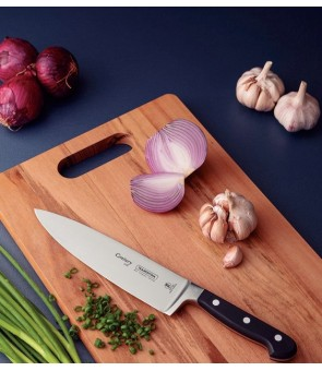 """Tramontina Century 10"""" Chefs Knife Stainless Steel Blade Reinforced Polycarbonate Handle"""