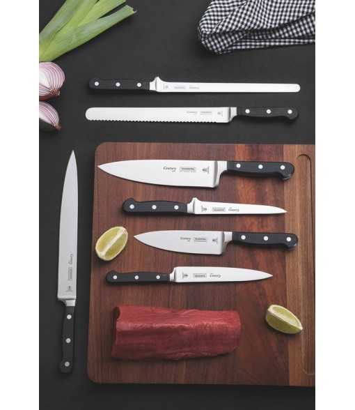 "Tramontina Century 10"" Chefs Knife Stainless Steel Blade Reinforced Polycarbonate Handle"