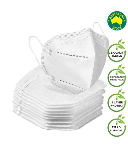 KN 95 Masks Reusable 10/50/100 Packs