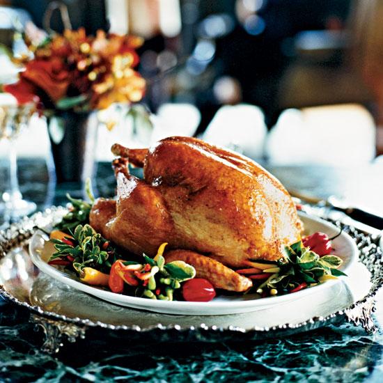 Roast turkey, foodandwine.com