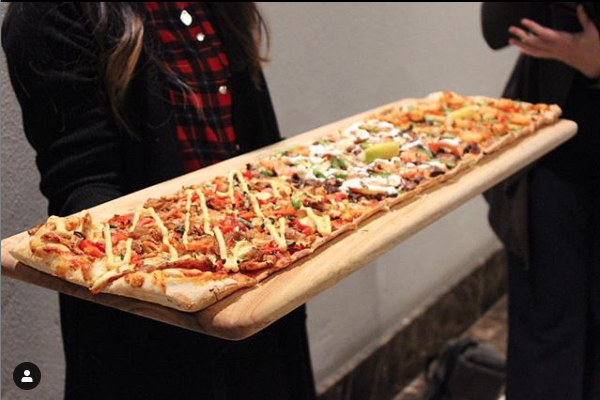 One metre pizza boards