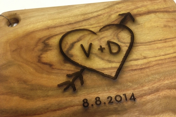 Engraving for weddings