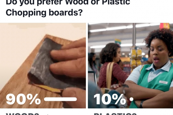 Which Chopping Board is better? Wood or Plastic?